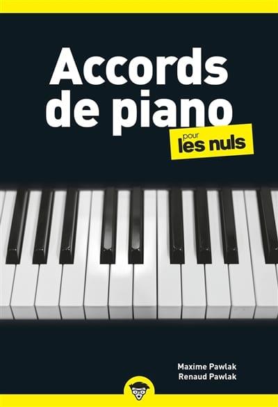 Accords de Piano pour les Nuls - Partition - laflutedepan.com
