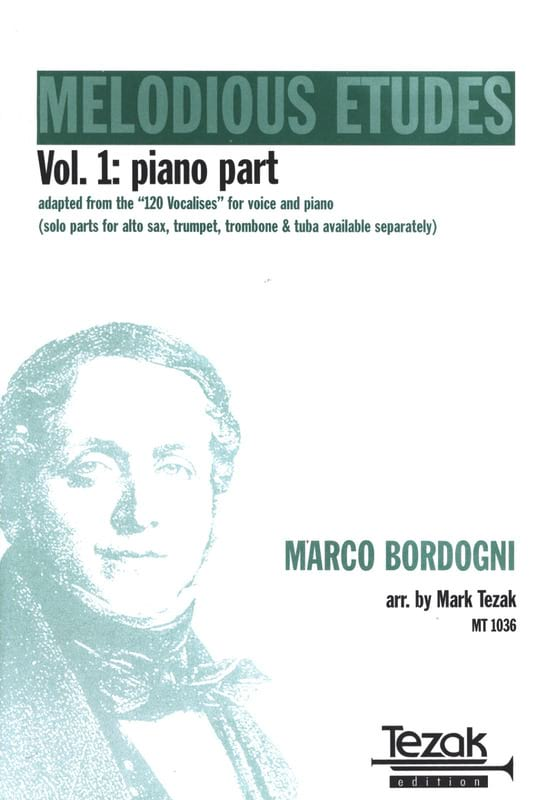 Melodious Etudes, The Complete Book Of Vocalises Volume 1 - Piano Acc. - laflutedepan.com