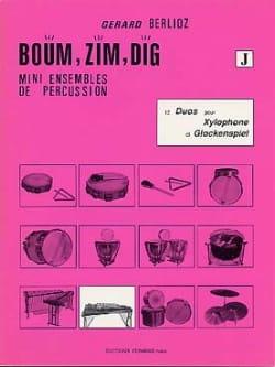 Boum, Zim, Dig. 12 Duos Volume J BERLIOZ Partition laflutedepan