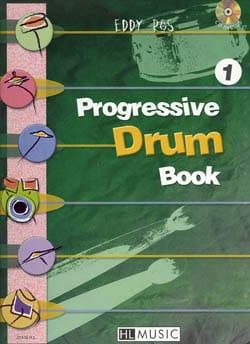 Progressive Drum Book 1 Eddy Ros Partition Batterie - laflutedepan