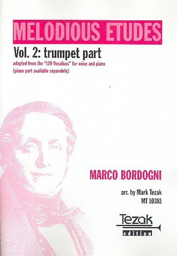 Melodious Etudes, The Complete Book Of Vocalises Volume 2 - Trompette - laflutedepan.com