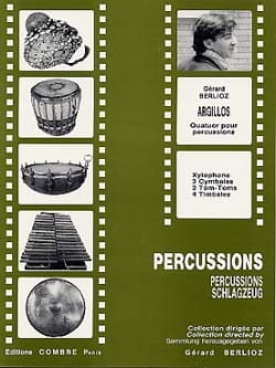 Argillos BERLIOZ Partition Ensemble de percussions - laflutedepan