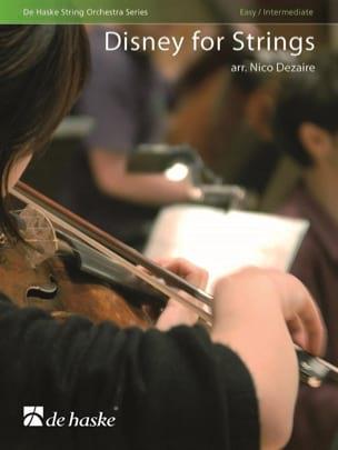 Disney for Strings DISNEY Partition Quatuors - laflutedepan