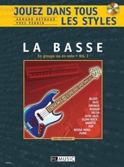 Jouez dans Tous les Styles Volume 1 - Guitare basse laflutedepan