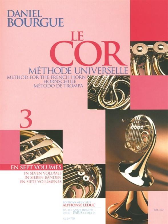 Le Cor Méthode Universelle Volume 3 - laflutedepan.com