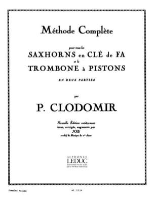 Méthode Saxhorns Clé de Fa Volume 1 laflutedepan