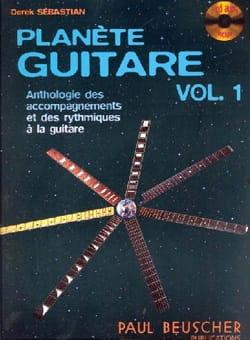 Planète Guitare Volume 1 Derek Sébastian Partition laflutedepan
