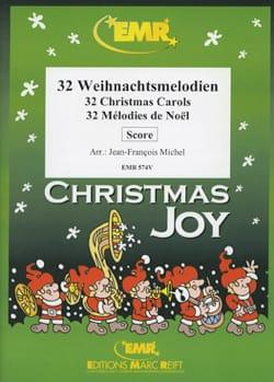 32 Mélodies de Noël - Quintette de Cuivres Noël Partition laflutedepan