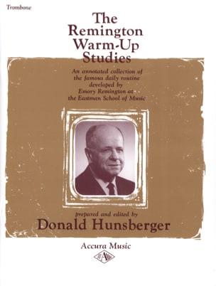 Warm-Up Studies Emory B. Remington Partition Trombone - laflutedepan