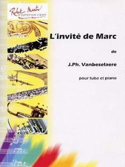 L' Invité de Marc Jean-Philippe Vanbeselaere Partition laflutedepan