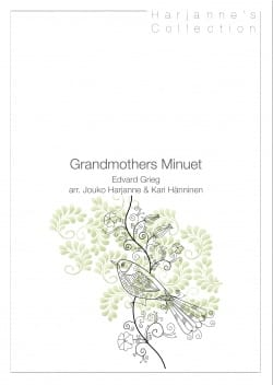 Grandmothers Minuet GRIEG Partition Trompette - laflutedepan