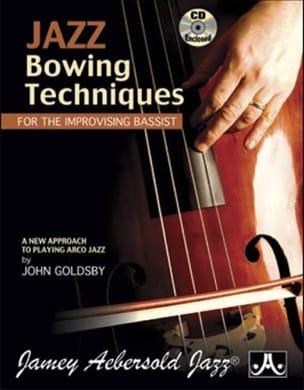 Jazz Bowing Techniques METHODE AEBERSOLD Partition laflutedepan