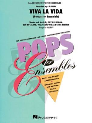 Viva la vida - Pops for ensembles Coldplay Partition laflutedepan