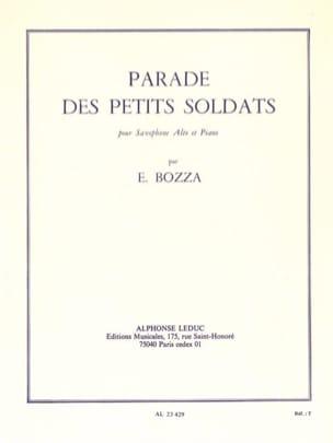 Parade Des Petits Soldats Eugène Bozza Partition laflutedepan