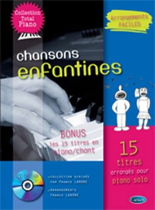 Collection Total Piano - Chanson enfantines Partition laflutedepan