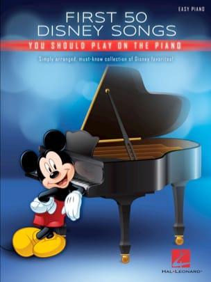 DISNEY - ピアノで弾くべき最初の50のディズニーの歌 - Partition - di-arezzo.jp