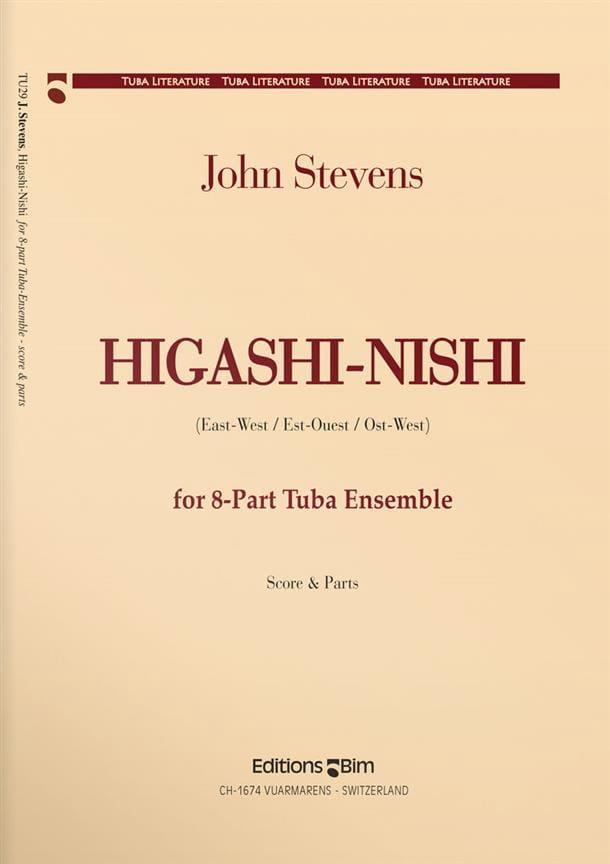 Higashi / Nishi - John Stevens - Partition - Tuba - laflutedepan.com