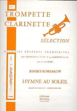 Nicolai Rimsky Korsakov - Hymne Au Soleil - Partition - di-arezzo.fr