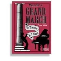 Grand March From Aida VERDI Partition Trompette - laflutedepan