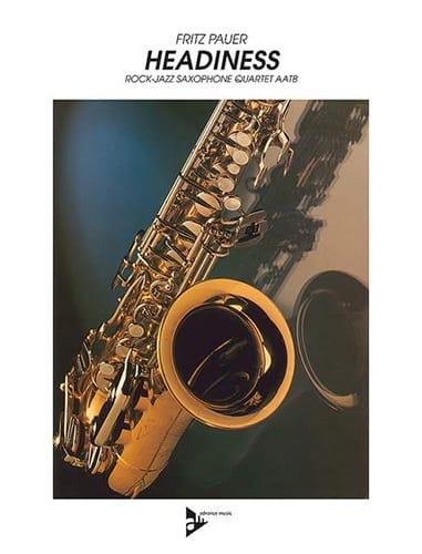 Headiness - Fritz Pauer - Partition - Saxophone - laflutedepan.com