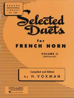 Selected Duets Volume 2 Voxman Partition Cor - laflutedepan