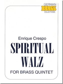 Spiritual Walz Enrique Crespo Partition laflutedepan