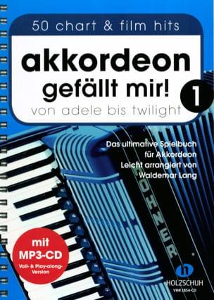 Akkordeon gefällt mir! Volume 1 Partition Accordéon - laflutedepan