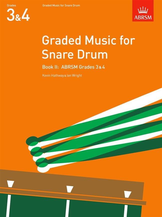 Graded Music For Snare Drum Volume 2 - laflutedepan.com