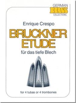 Bruckner Etüde Enrique Crespo Partition Tuba - laflutedepan