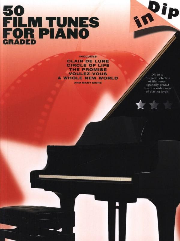 50 Film Tunes For Piano Graded - Dip In - laflutedepan.com