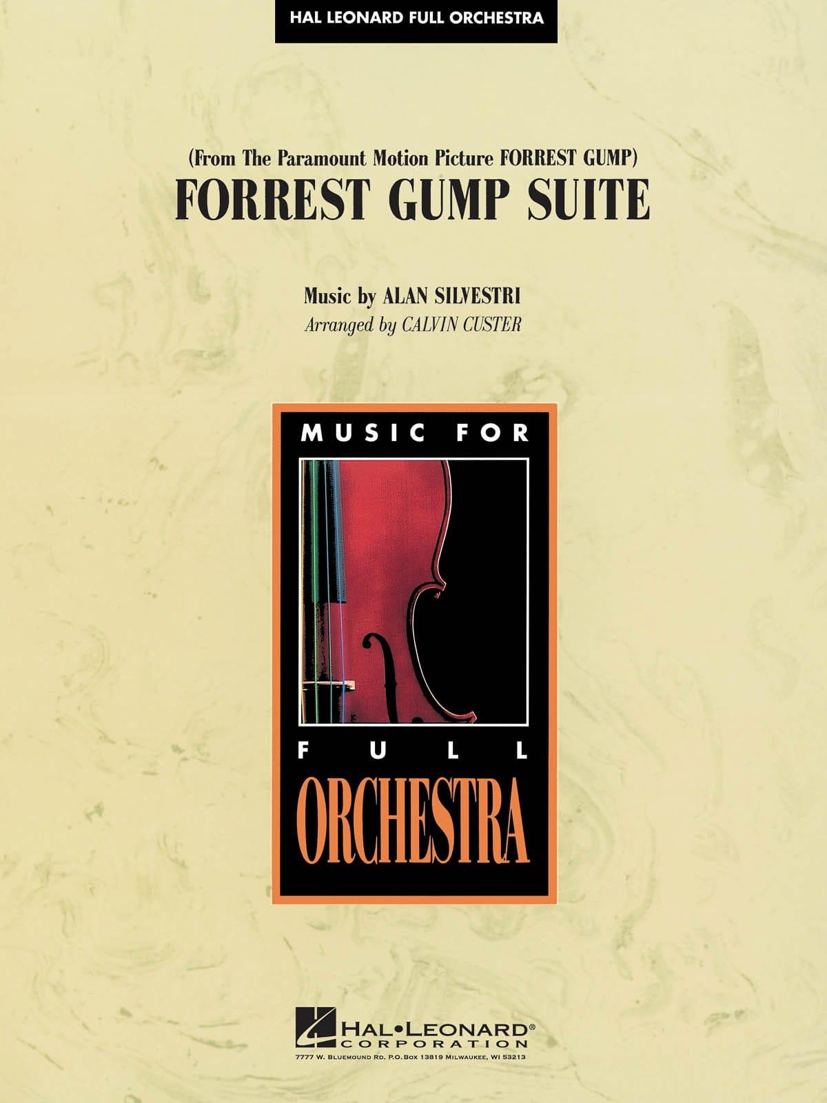Forrest Gump Suite - Alan Silvestri - Partition - laflutedepan.com