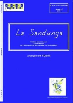 La Sandunga Yannick Guillot Partition laflutedepan