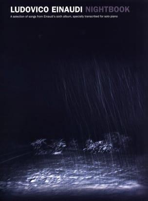 Ludovico Einaudi - Nightbook - Partition - di-arezzo.com