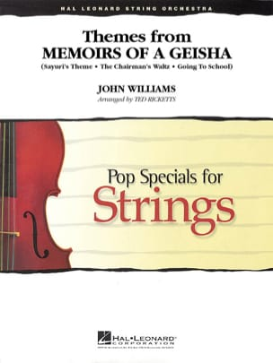 Themes from Memoirs of a Geisha - Pop Specials for Strings laflutedepan