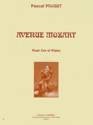 Avenue Mozart - Pascal Proust - Partition - Cor - laflutedepan.com