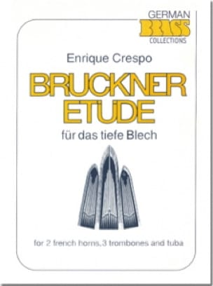 Bruckner Etüde - Enrique Crespo - Partition - laflutedepan.com