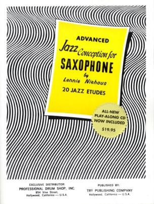 Advanced Jazz Conception For Saxophone Lennie Niehaus laflutedepan