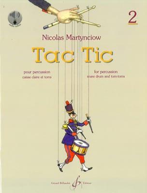 Tac Tic Volume 2 Nicolas Martynciow Partition laflutedepan