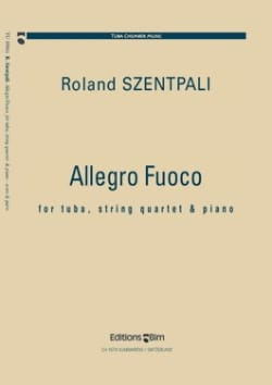 Allegro fuoco Roland Szentpali Partition Sextuors - laflutedepan