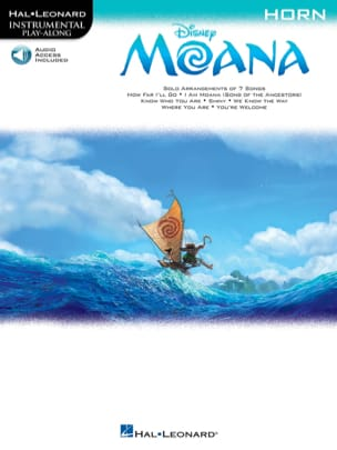 Vaiana - Musique du Film DISNEY Partition Cor - laflutedepan