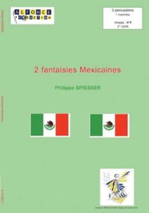 2 Fantaisies Mexicaines - Philippe Spiesser - laflutedepan.com