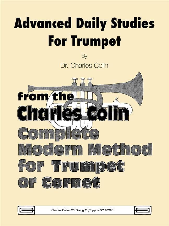Advanced Daily Studies for Trumpet or Cornet - laflutedepan.com