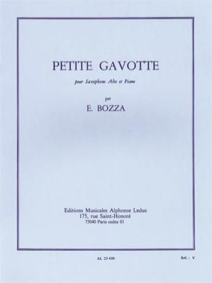 Petite Gavotte Eugène Bozza Partition Saxophone - laflutedepan