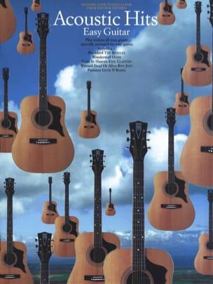 Acoustic Hits Partition Guitare - laflutedepan