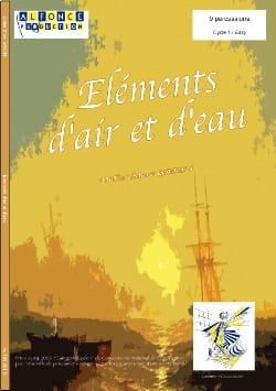 Eléments D' Air Et D' Eau Didier Marc Garin Partition laflutedepan