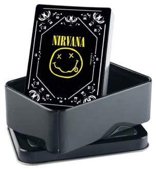 Jeu Musical - Nirvana Playing Cards - Smiley Logo - Accessoire - di-arezzo.es
