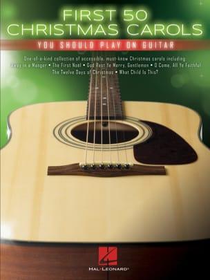 First 50 Christmas Carols You Should Play on Guitar Noël laflutedepan