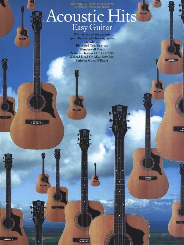 Acoustic Hits - Partition - Guitare - laflutedepan.com