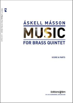 Music - Askell Masson - Partition - laflutedepan.com