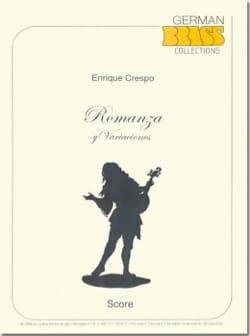 Romanza y Varianciones Enrique Crespo Partition laflutedepan
